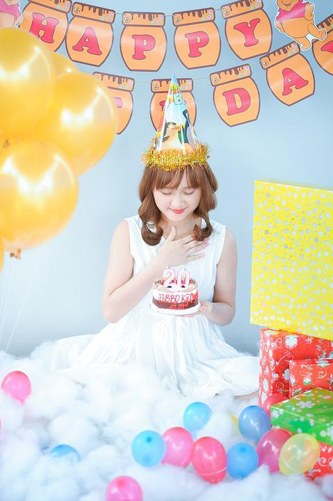 Birthday Cake Photo Frame Download