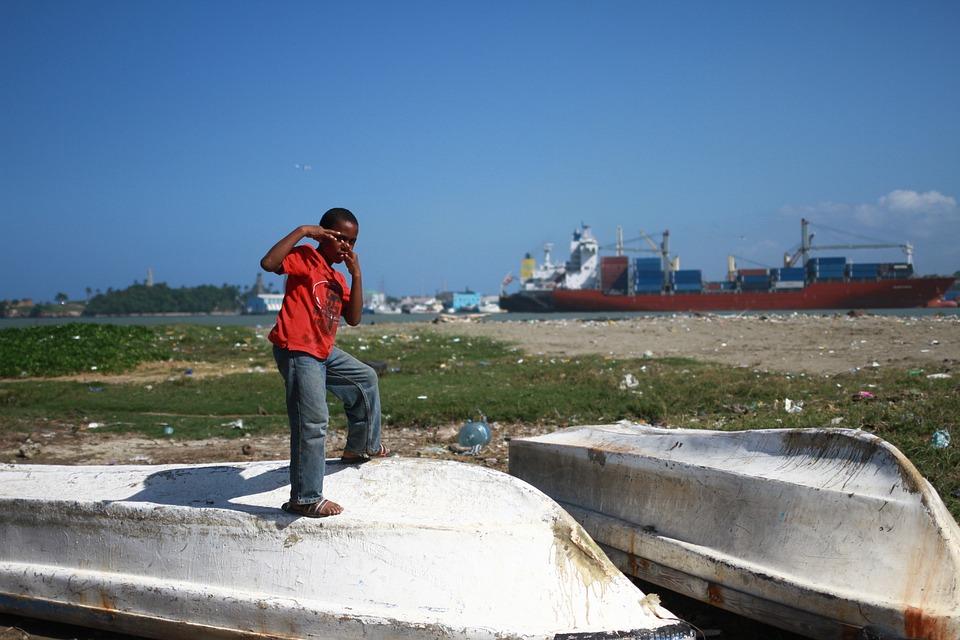 Młody Chłopak, Dominikana, Ubóstwo, Dziecko, Portu