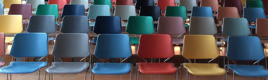 Sillas Público Presentación Clase Sala Mue