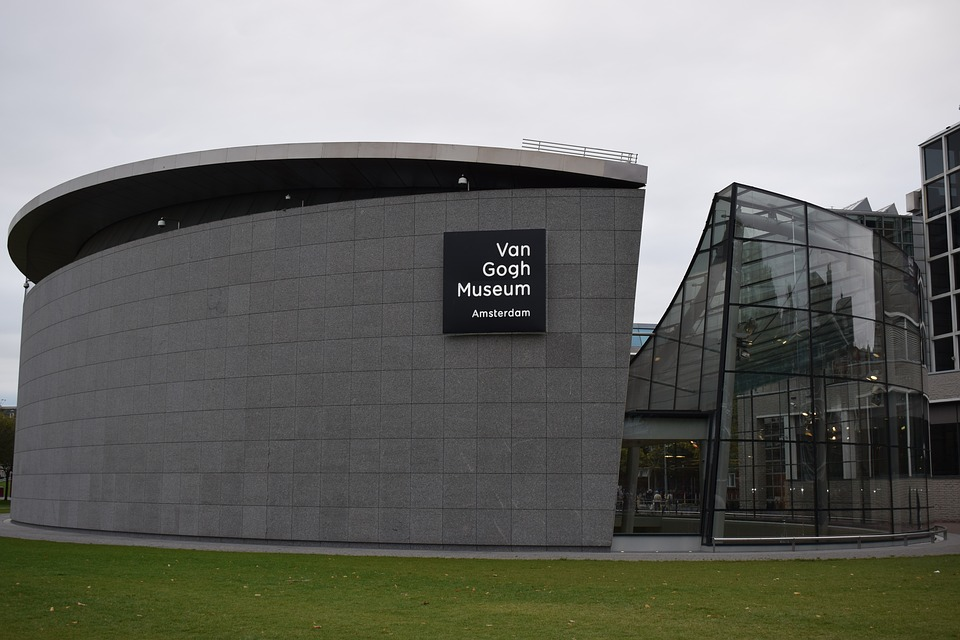 Musée, Van Gogh, Architecture, Moderne
