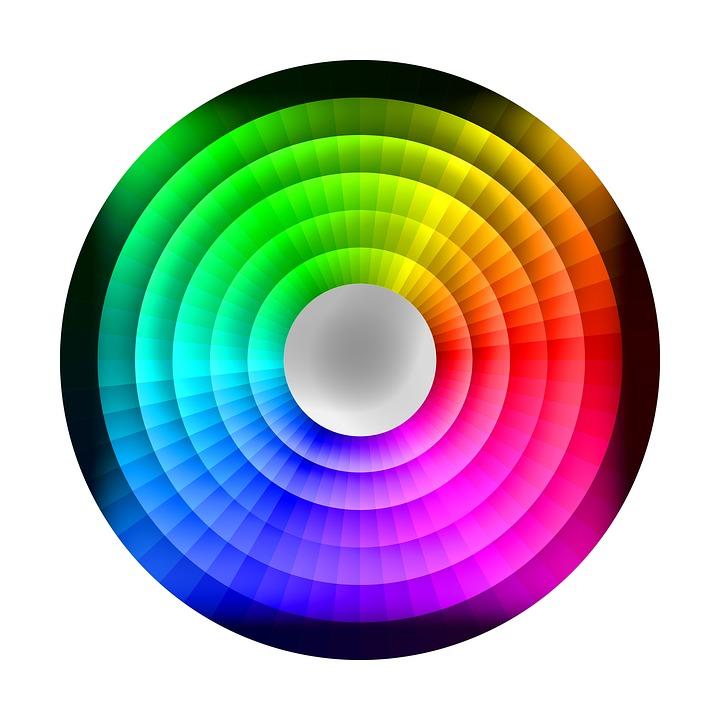 Free Illustration: Colour Wheel, Chromatic, Rainbow