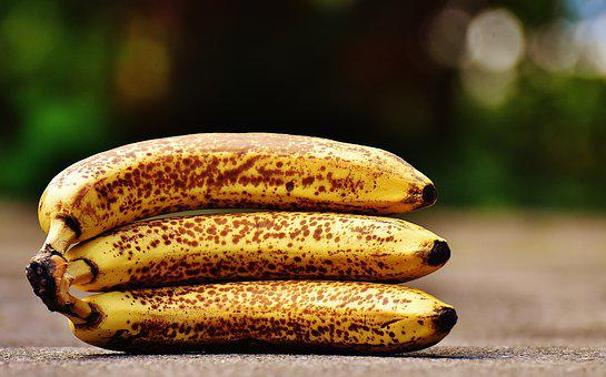 Bananas, Fruits, Fruit, Healthy, Yellow
