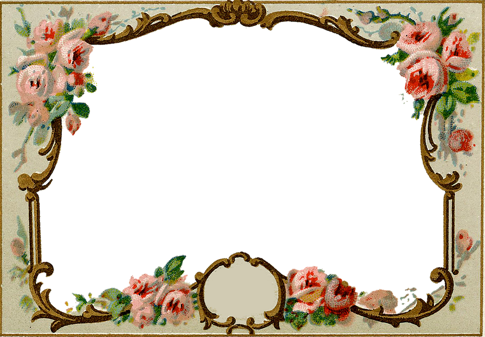 Vintage antique frame free image on pixabay for How to make vintage frames