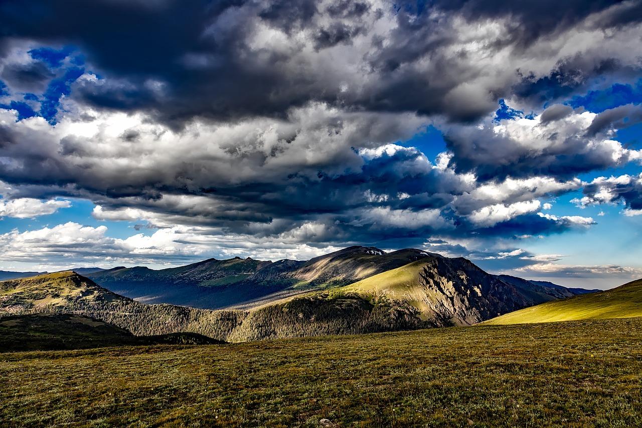 фотографии с горы небо