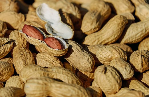 Nuts Peanut Roasted Cores Snack Healthy De