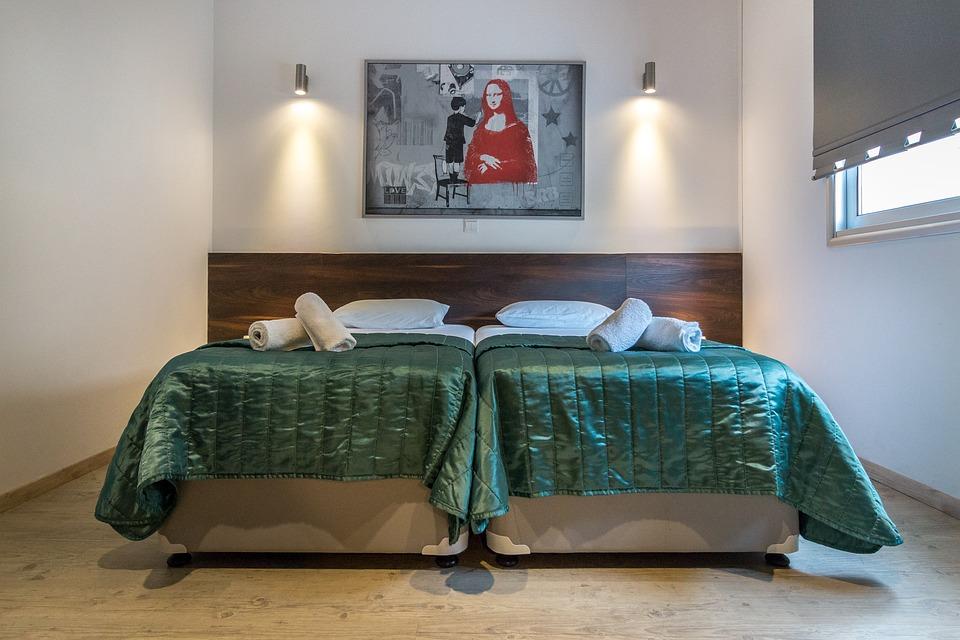 Dormitorio, Hotel, Interior, Villas De Lujo, El Turismo