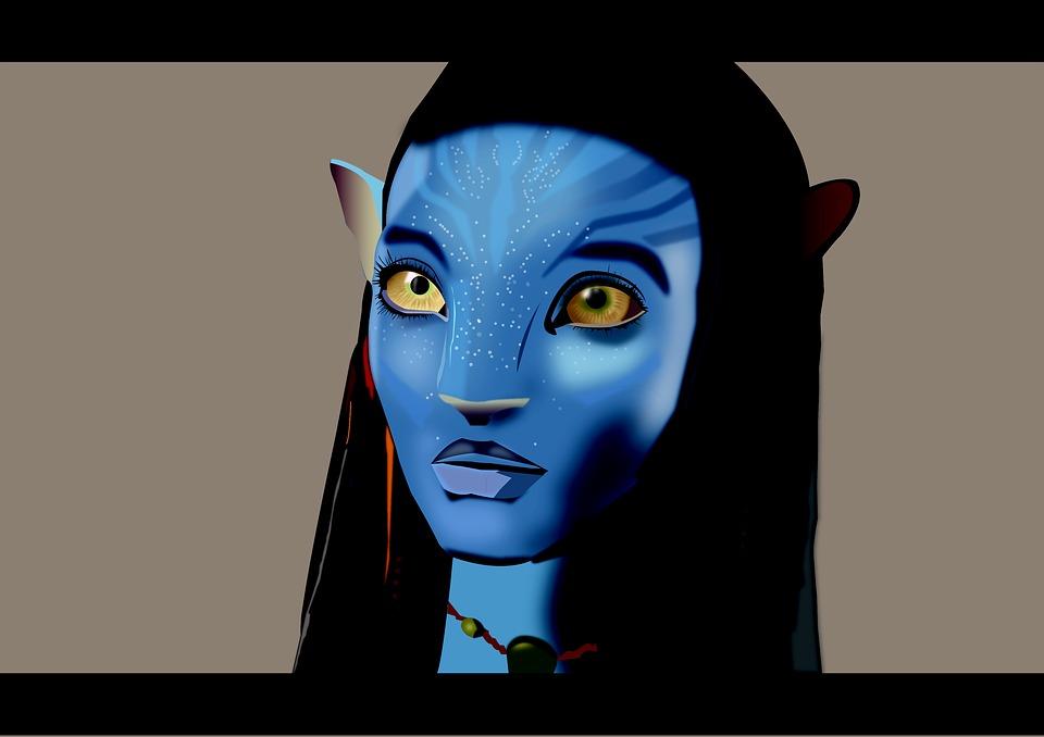 extraterrestre bleu film