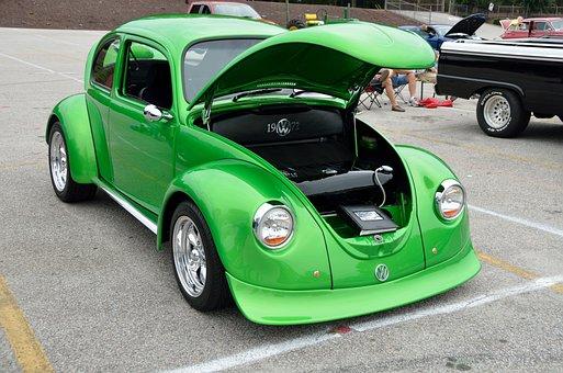 Classic Car, Design, Vintage, Retro