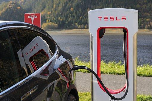 Tesla Tesla Model X Charging Supercharger