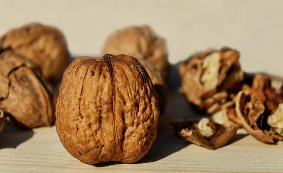 Walnuts, Shell, Nut, Brown, Snack