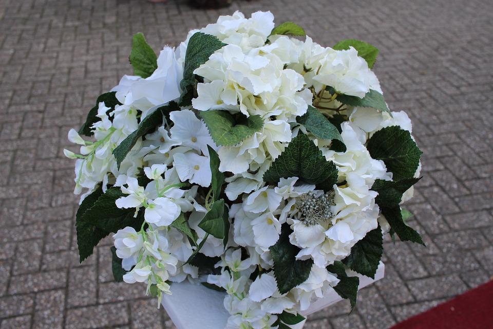 Hochzeit Blumen Weisse Kostenloses Foto Auf Pixabay