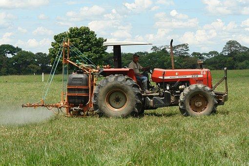 Tractor, Labranza, Fumigacion