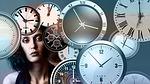 time, clock, head