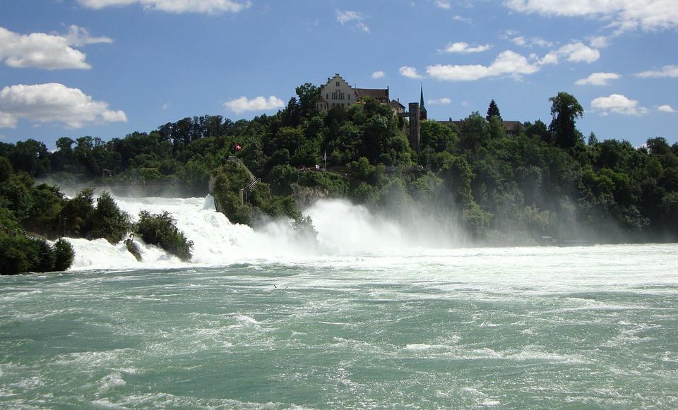 Hasil gambar untuk air terjun rhein