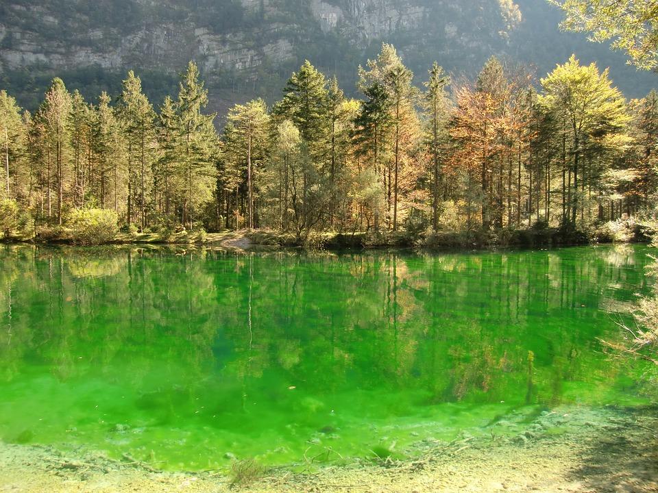 Bluntautaler Jeziora, Bluntautal, Kraj Salzburg