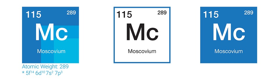 Moscovium chemistry periodic table free image on pixabay moscovium chemistry periodic table elements physics urtaz Image collections