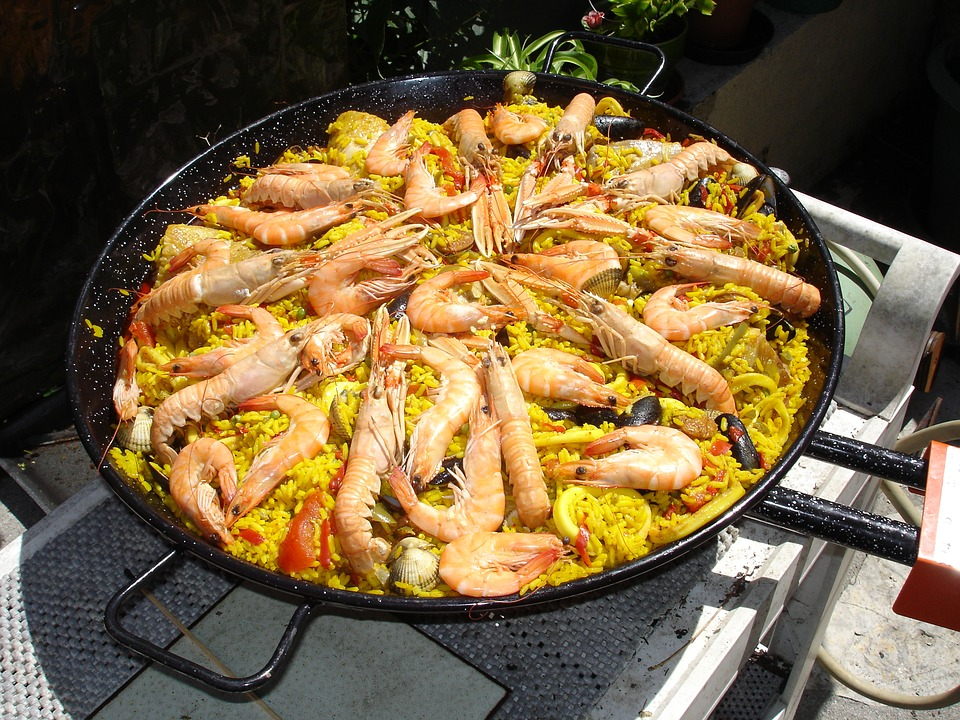 cuisine espagnol paella plat photo gratuite sur pixabay. Black Bedroom Furniture Sets. Home Design Ideas