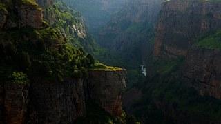 Canyon, Mountains, Deep, Gorge