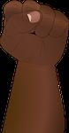 fist, hand, revolution