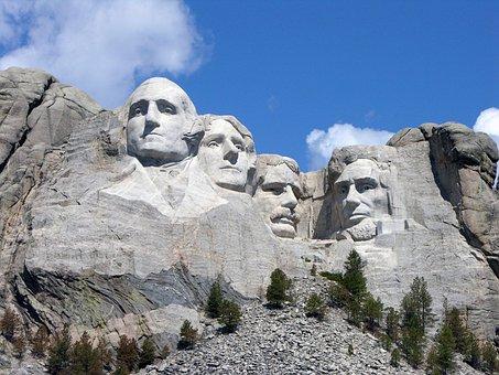 Mt, Rushmore, Monuments, Dakota