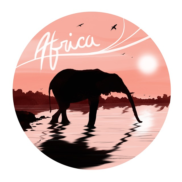 картинка с надписью африка хорошее