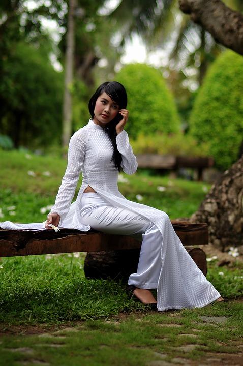 Free Photo Girl, White Clothing, Pretty, Asian - Free Image On Pixabay - 1741928-3955