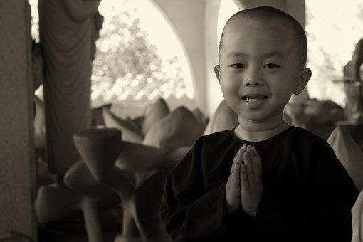 Monk, Nun, Religion, Pray, Temple
