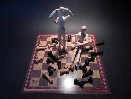 Chess, Board Game, Play, Lose