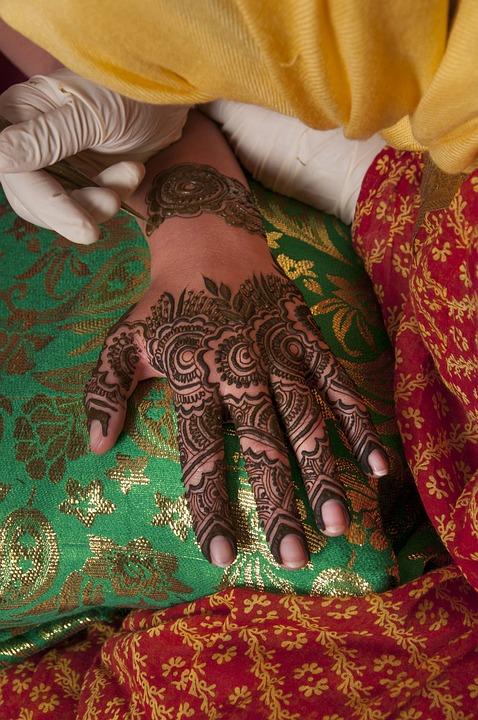 Desain Mehndi Henna Pengantin Foto Gratis Di Pixabay
