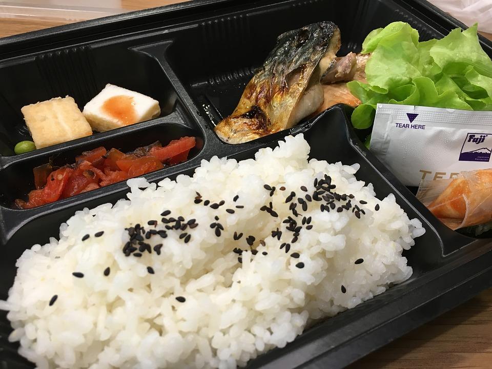 日本, 食事, 食品, アジア, おいしい, 寿司, 夕食, 昼食, マキ, 設定, 米, お弁当, ボックス