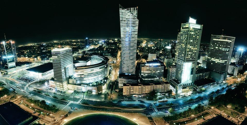 Varsavia, Costruzione, Città, Dell'Antenna, Centro