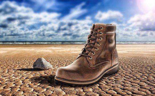 Shoes, Desert, Only, Stranger, Passenger