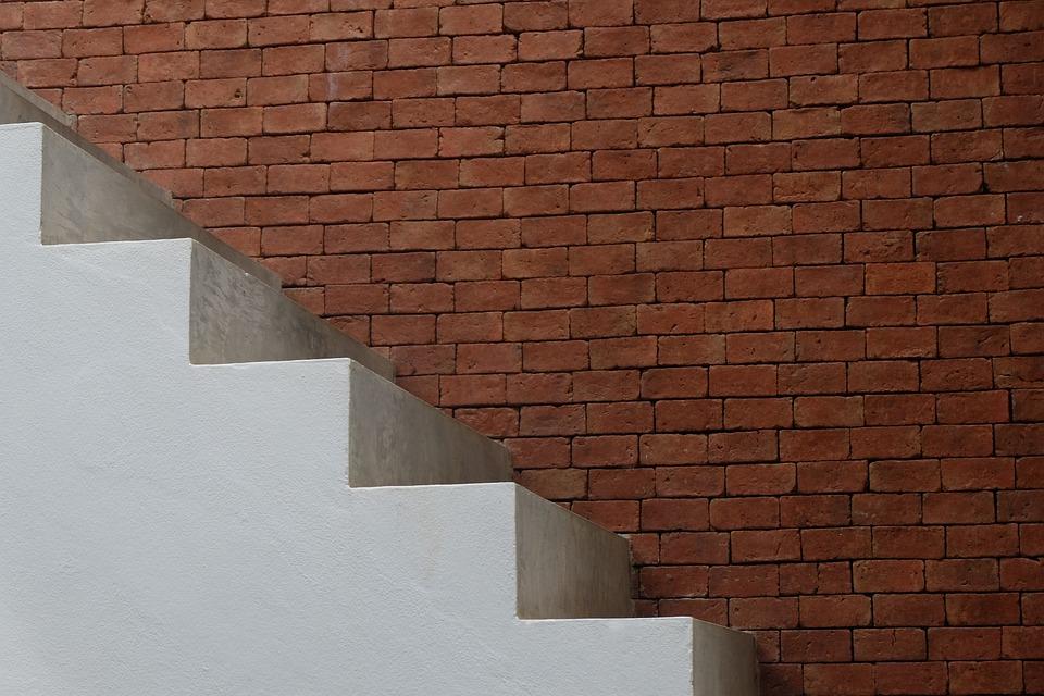Trap muur white · gratis foto op pixabay