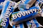 bounty, candy bar, chocolate