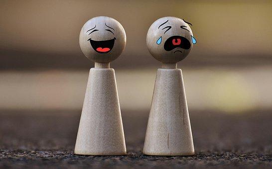 Postacie z gry, emotikony, płacz, śmiech zabawki dla dzieci