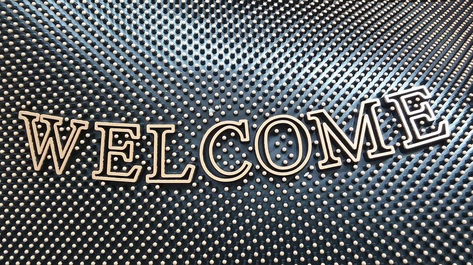 welcome mat welcome door mat mat