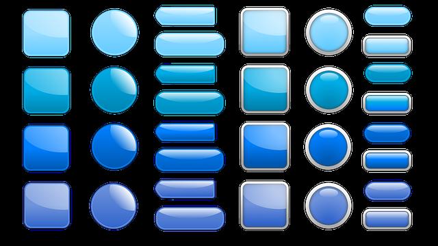 библиотека картинок для кнопок прозрачно