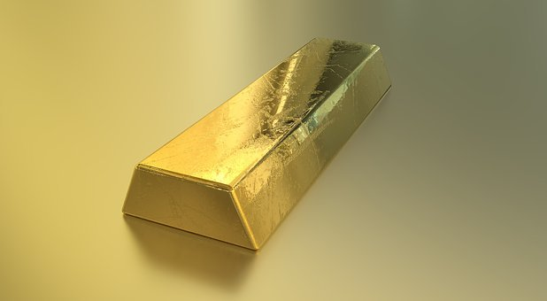 Bullion, Gold, Currency, Wealth, Finance