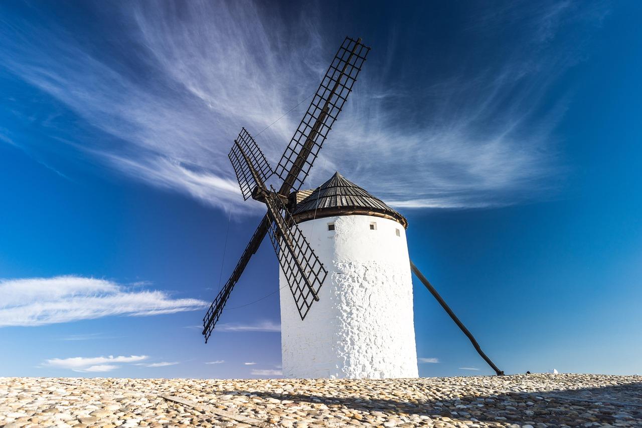 历史悠久的风车
