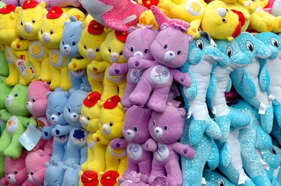 Stuffed Animals Carnival Amusement Free Photo On Pixabay