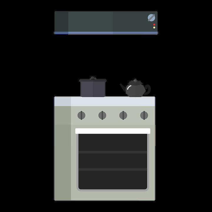 厨房, 炉灶, 烤箱, 吸油烟机, 厨师, 锅, 南斯拉夫联盟共和国, Teekessen, 茶壶, 烤盘