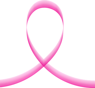 Pink Ribbon Awareness Cancer Breast Symbol