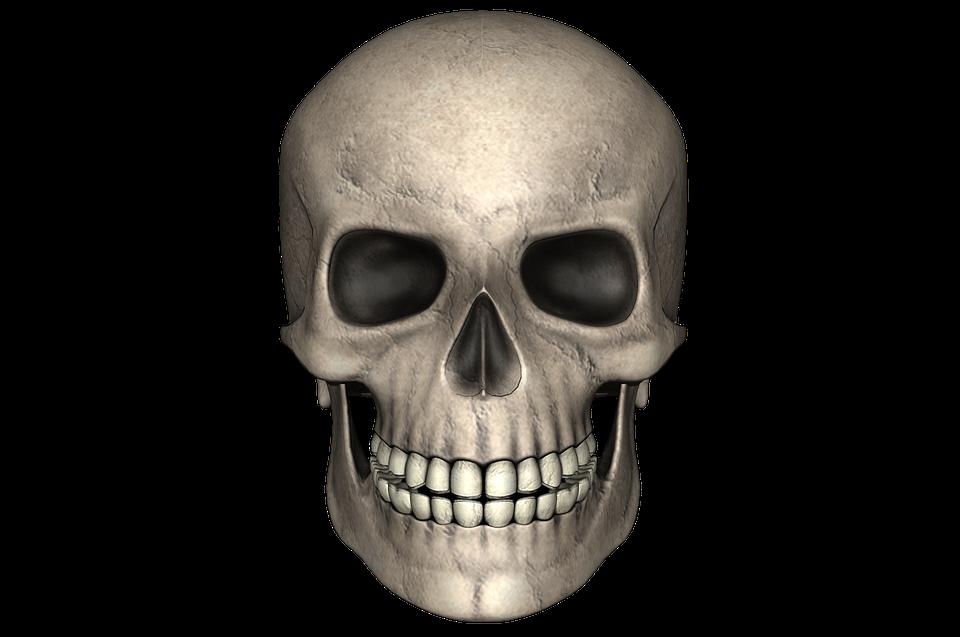 Small Skull Face Paint