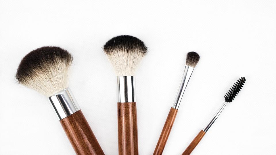 Make-Up Borstel, Borstel, Cosmetica, Make-Up, Make Up