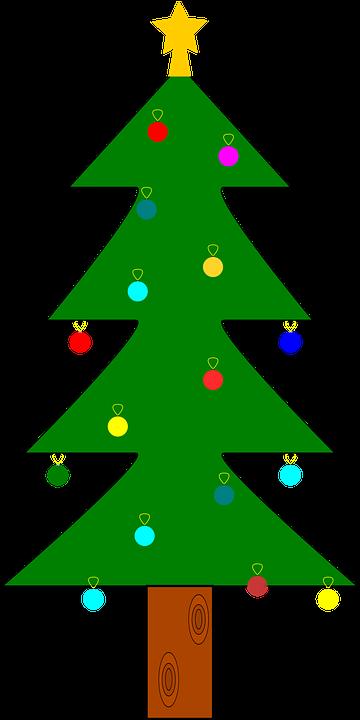 Árbol De Navidad Adorno · Gráficos vectoriales gratis en Pixabay