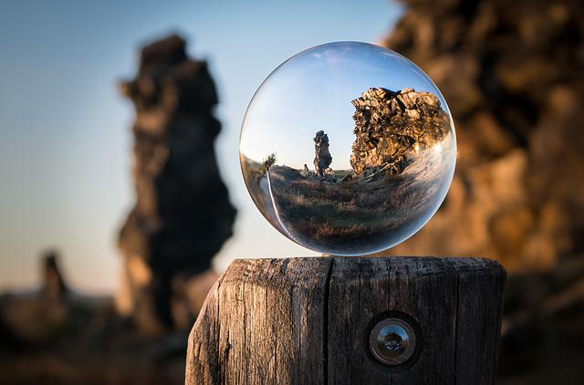 Free photo: Glass Ball, Devil'S Wall, Resin - Free Image ...