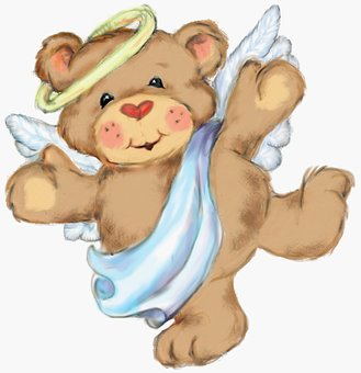Angel Bear Teddy Cute Happy Sweet Ted