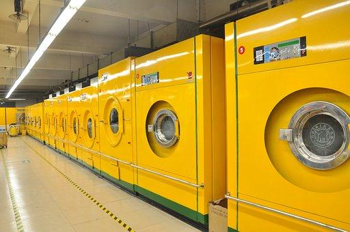 Boutique, Blanchisserie, Machine À Laver