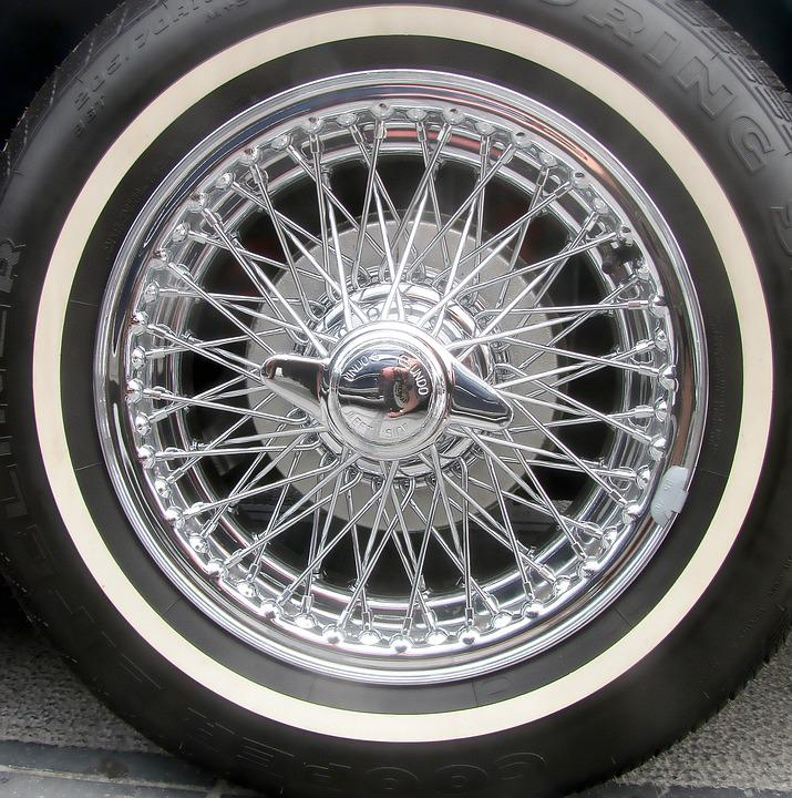 Chrome Car Wheel Spoke · Free photo on Pixabay