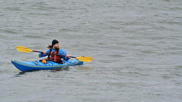 Kayak, Kayaker, Water, Kayaking, Sport
